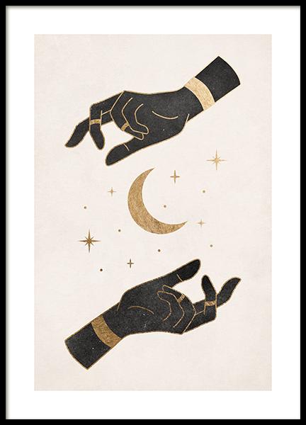 Mystic Hands Poster