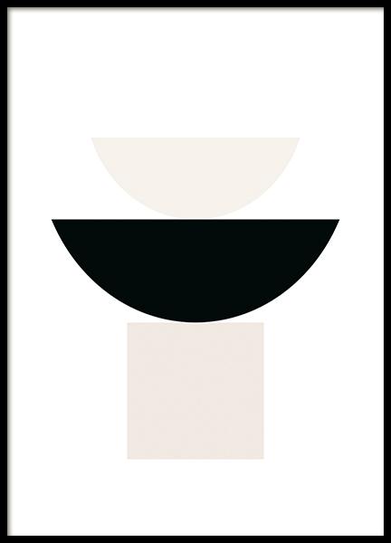 Boho Geometric Poster