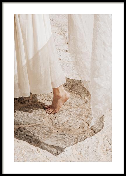 Barefoot Dancing Poster