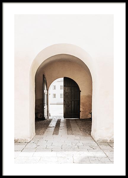 An Open Door Poster