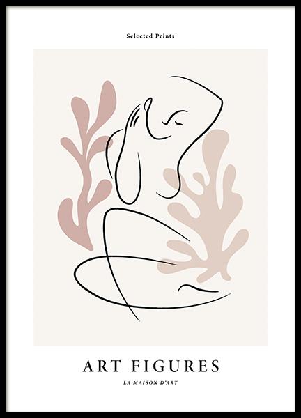 Art Figures No1 Poster
