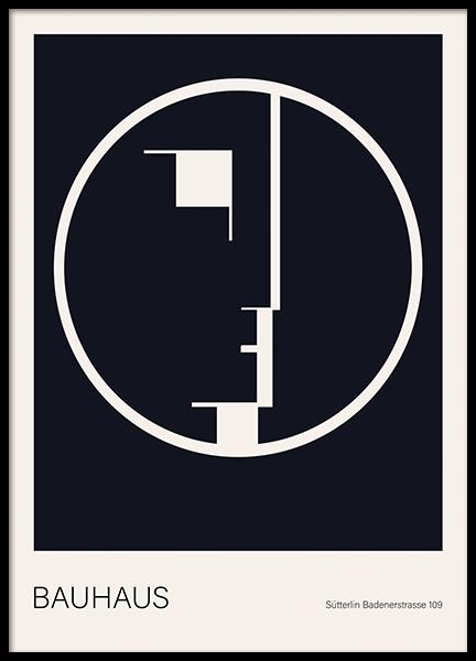 Bauhaus Poster Poster