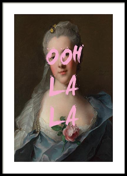 Ooh La La Poster