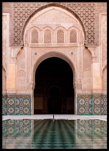 Marrakech Facade Poster
