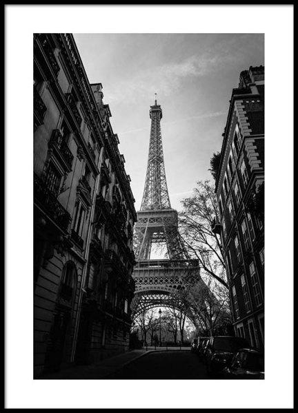 Street Of Paris Poster