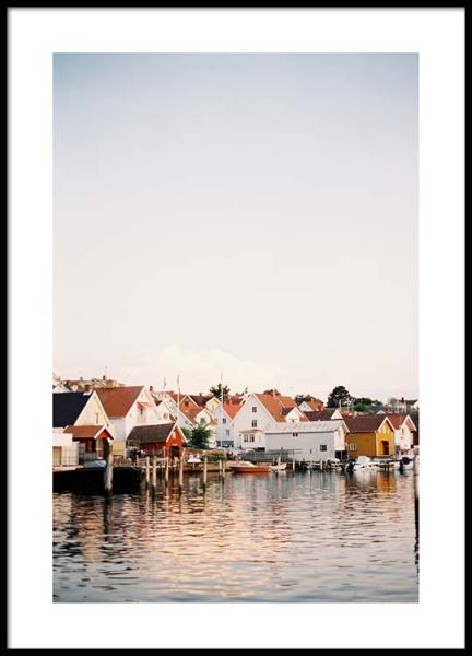 Boathouses Poster