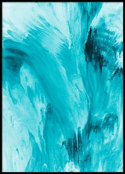 Abstract Water Poster in der Gruppe Poster / Kunstdrucke bei Desenio AB (2462)
