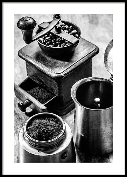 Moka Espresso Poster