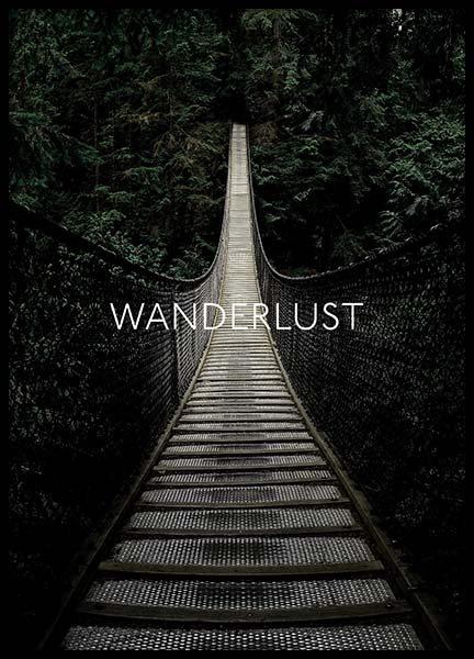 Wanderlust Away Poster