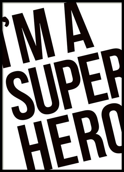 Superhero, Poster