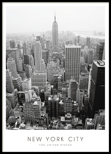 Poster New York City, Poster mit Städtefotos
