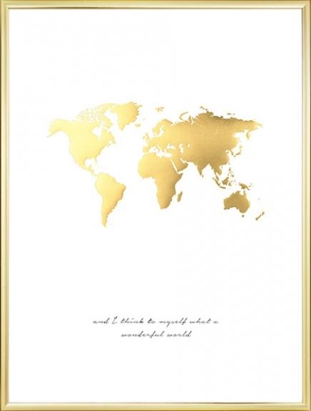 Wonderful World Guld, Poster