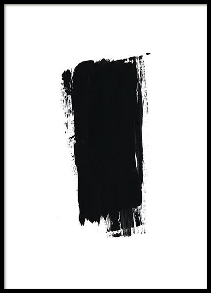 Brush Black, Poster