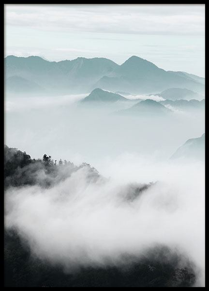 Cloud Mountains, Poster