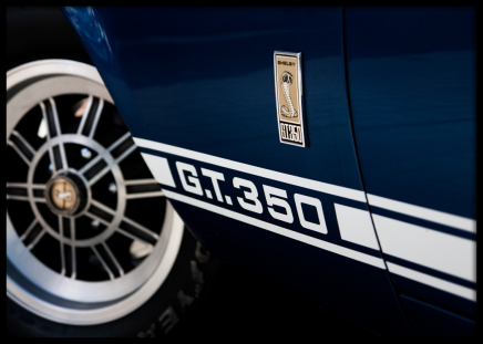 Ford Mustang Gt350 Poster in der Gruppe Poster / Fotografien bei Desenio AB (8803)