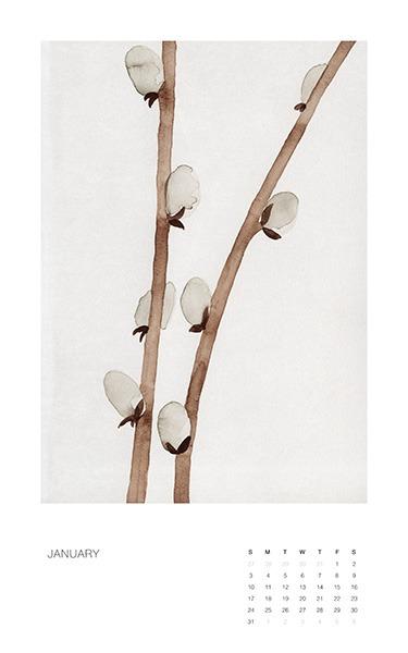 Botanical Art Calendar