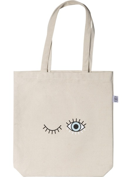 Baby Blue Tote Bag in der Gruppe Limited edition bei Desenio AB (TOTE50141)