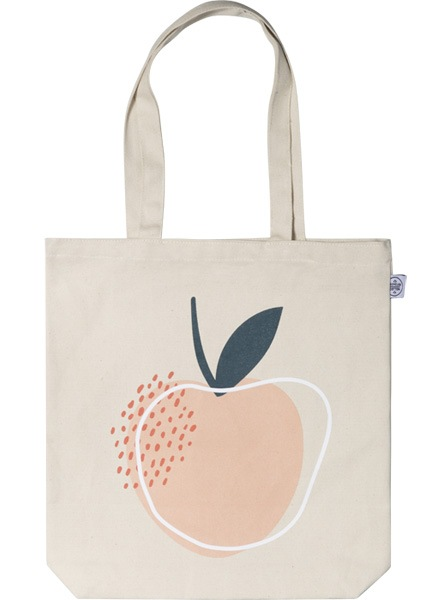 Life is Peachy Tote Bag in der Gruppe Limited edition bei Desenio AB (TOTE50147)