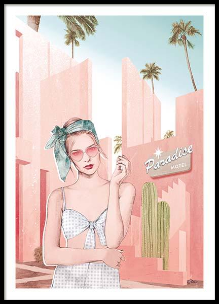 Bon Voyage Poster in der Gruppe Poster / Illustration bei Desenio AB (co0012)
