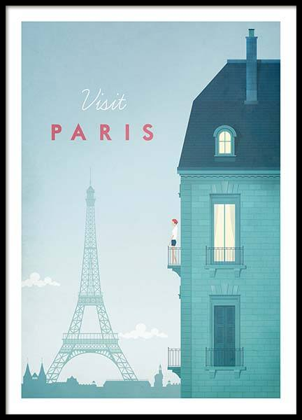 Paris Travel Poster