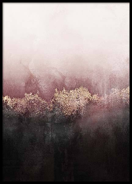 Pink Sky Poster