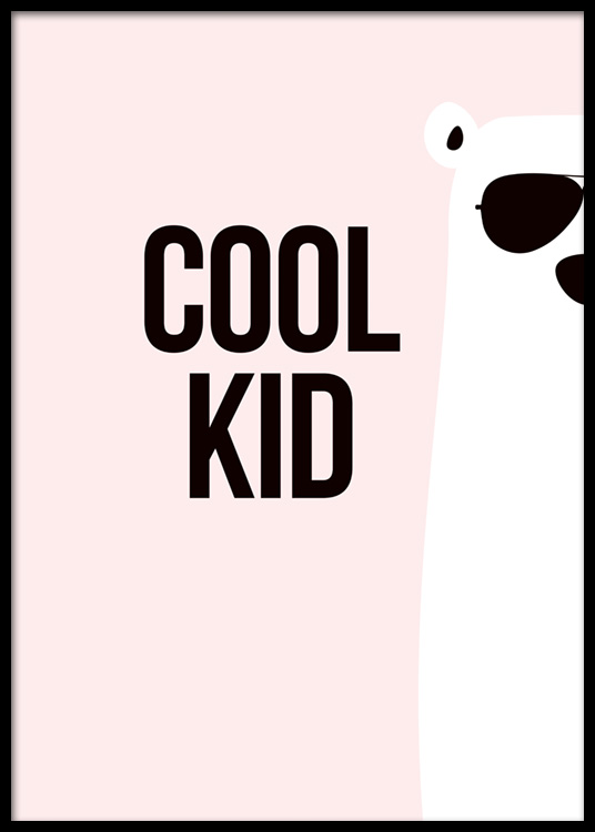 Cool Kid Poster