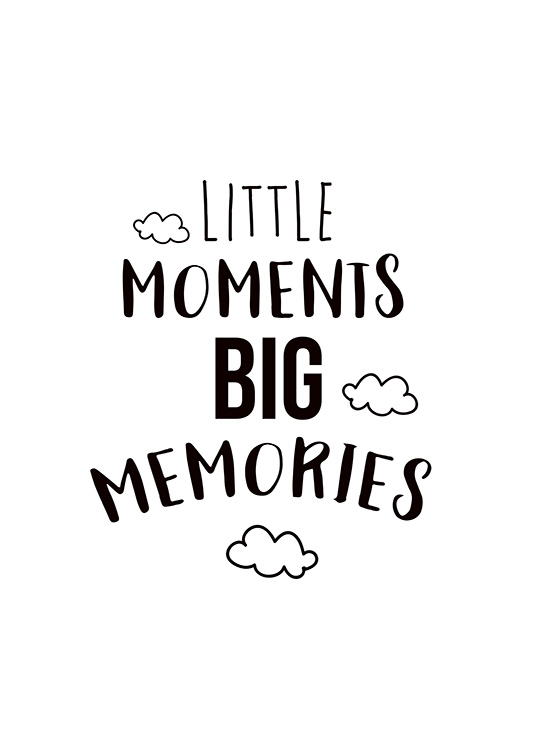 Little Moments Poster / Kinder bei Desenio AB (11442)