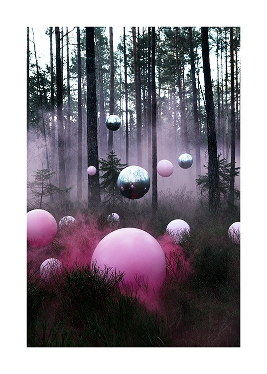 The Mysterious Forest Poster / 70x100 cm bei Desenio AB (12174)