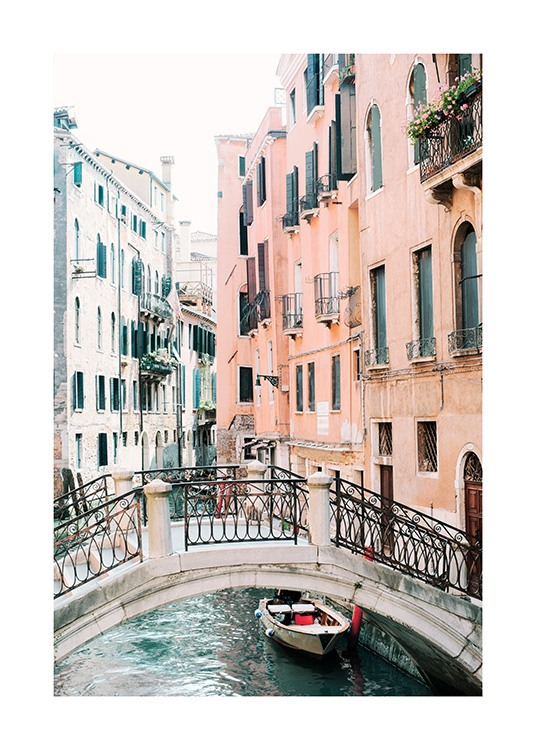 Canal in Venice Poster / Fotografien bei Desenio AB (12932)