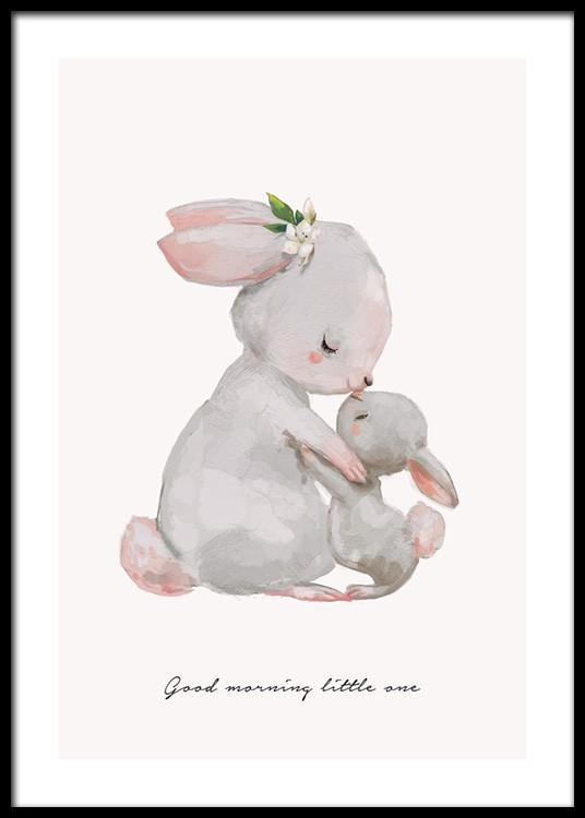 Good Morning Little One Poster