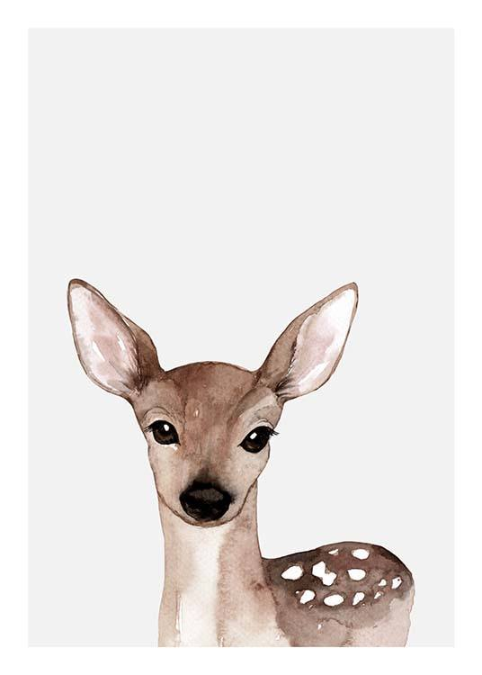 Little Deer Poster / Kinder bei Desenio AB (3369)