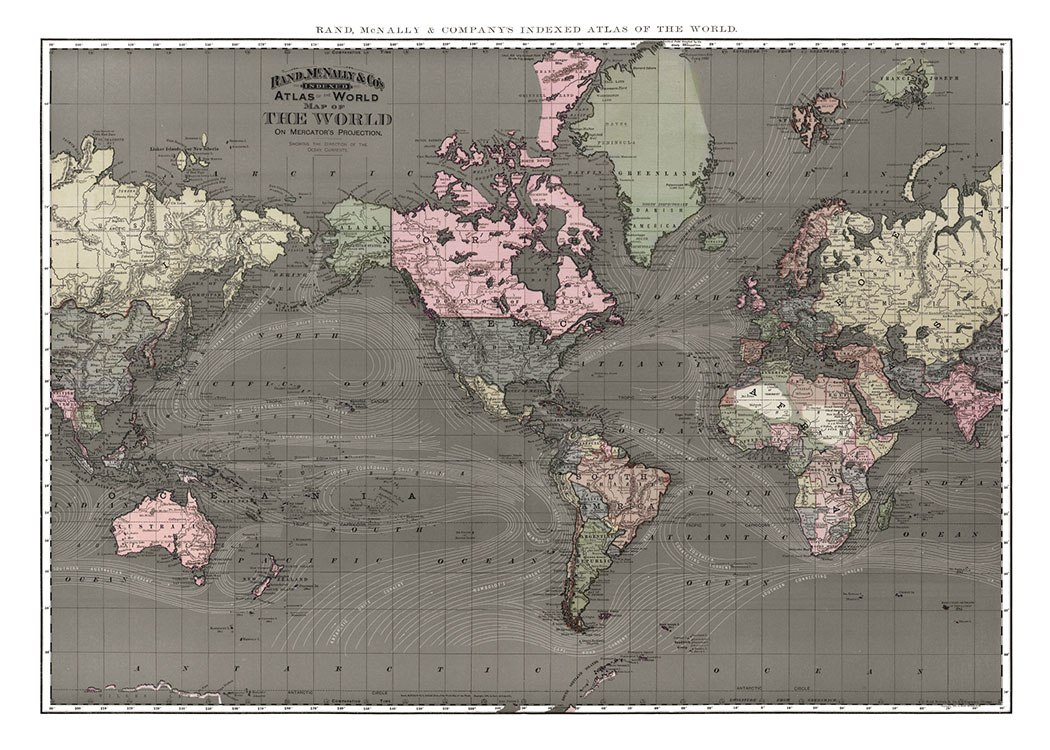 The World, Posterer / Vintage bei Desenio AB (7210)