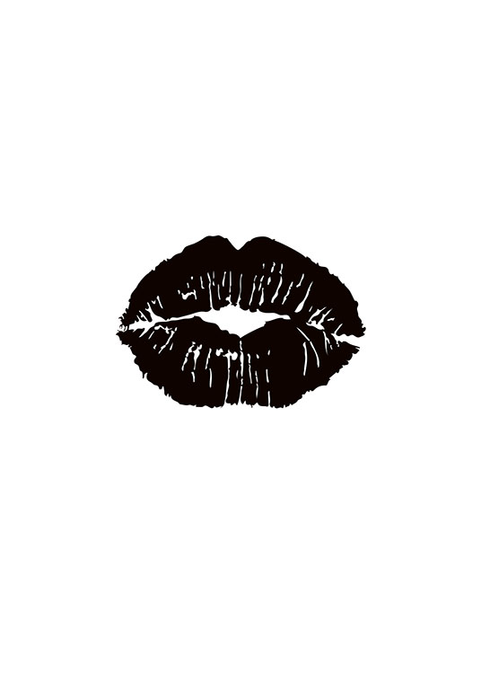 Black Lips, Poster / Fashion bei Desenio AB (7757)