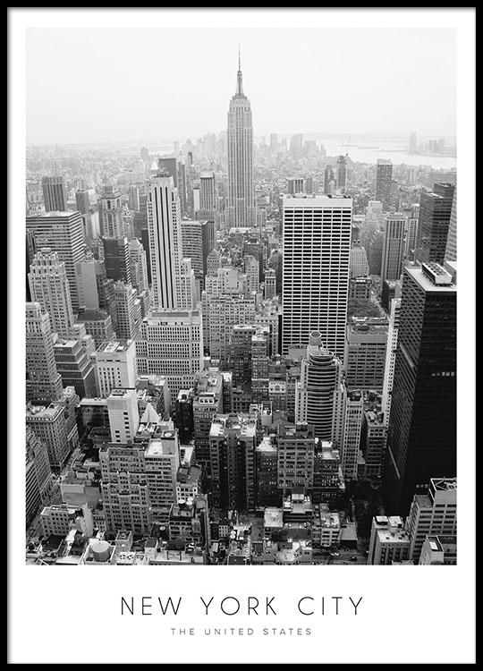 Poster von New York | Poster mit Städtefotos | Plakate