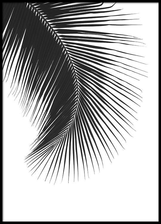 61b63ee5421b3 Poster mit einem Schwarz-Weiß-Foto für die Inneneinrichtung ...