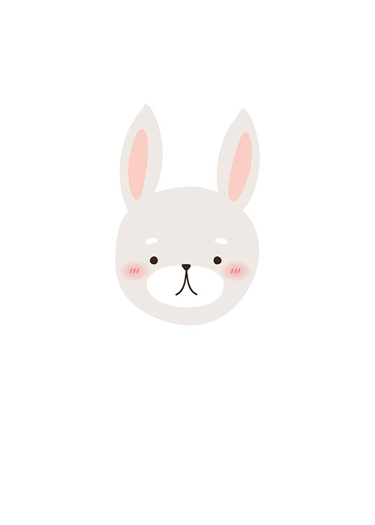 Little Bunny, Poster / Kinder bei Desenio AB (8469)
