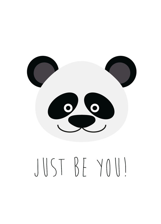 Just Be You, Poster / Kinder bei Desenio AB (8510)