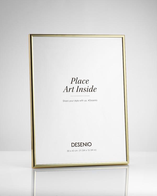 Goldener Bilderrahmen 40x50 | Rahmen kaufen | Desenio