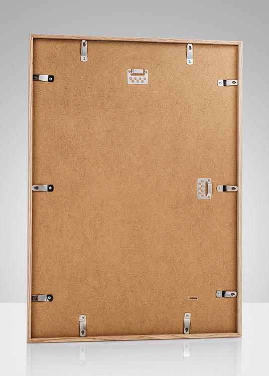 holzrahmen in eiche f r bilder der gr e 50x70 cm. Black Bedroom Furniture Sets. Home Design Ideas