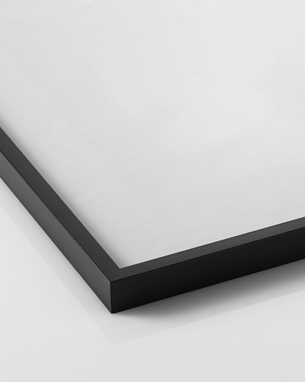 schwarzer bilderrahmen in der gr e 50x70 cm. Black Bedroom Furniture Sets. Home Design Ideas