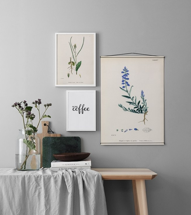 Bilderwand Und Postercollage In Der Küche | Poster Für Die Küche