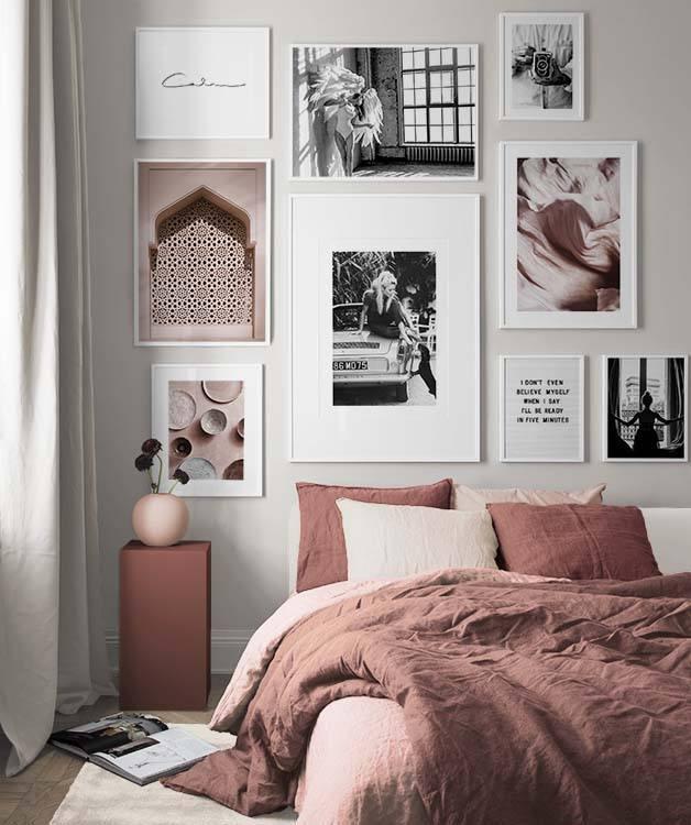 Design Inspiration und Wandbilder für das Schlafzimmer | Desenio