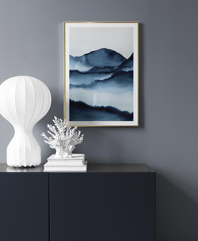 Blautöne Farbpalette: Blau In Allen Schattierungen