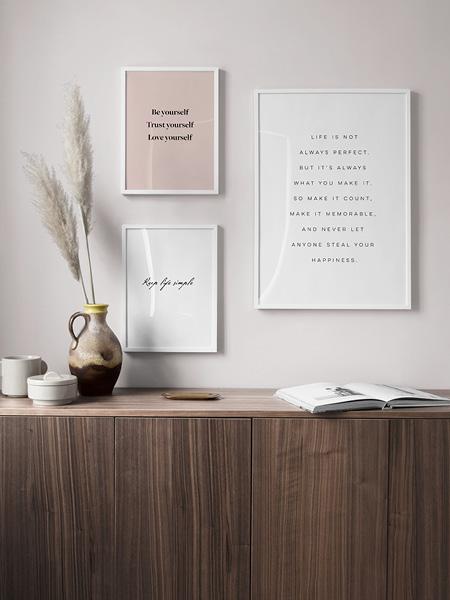 Typografieposter Bilder Mit Sprüchen Zitate Bilder