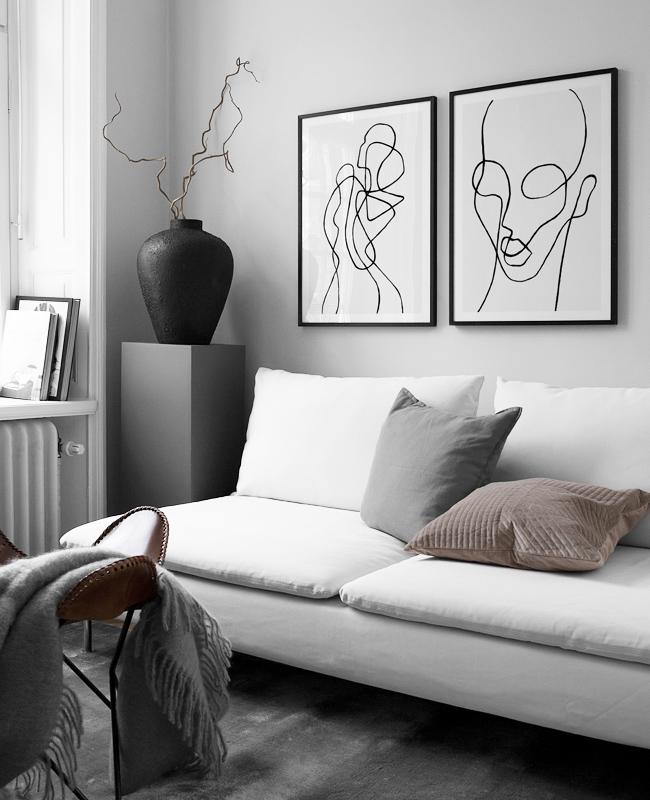 Dekotipps wohnzimmer dekoriere dein wohnzimmer in grau - Graues wohnzimmer ...